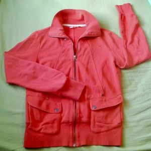 Puma Red Long Sleeved Jacket